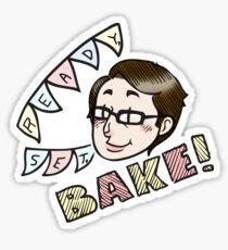 Sue Says Bake! Sticker