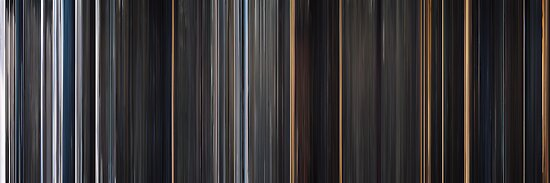 Moviebarcode: The Thing (2011) by moviebarcode