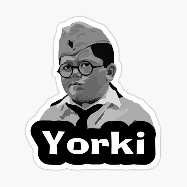 yorki (jojo rabbit) Sticker