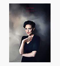 Irene Adler portrait Photographic Print