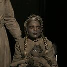 Victorian Child Living Statue by patjila
