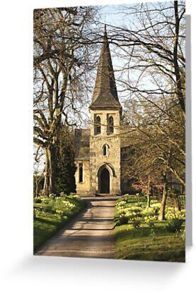 St Mary's Church, Sand Hutton by Rachel Down
