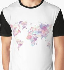 Continents Graphic T-Shirt