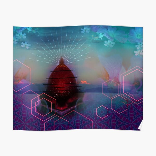 Hive - surreal landscape Poster