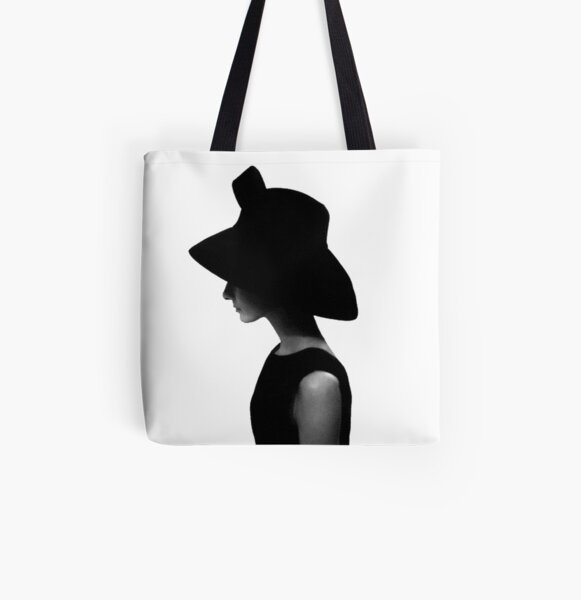 Hepburn All Over Print Tote Bag