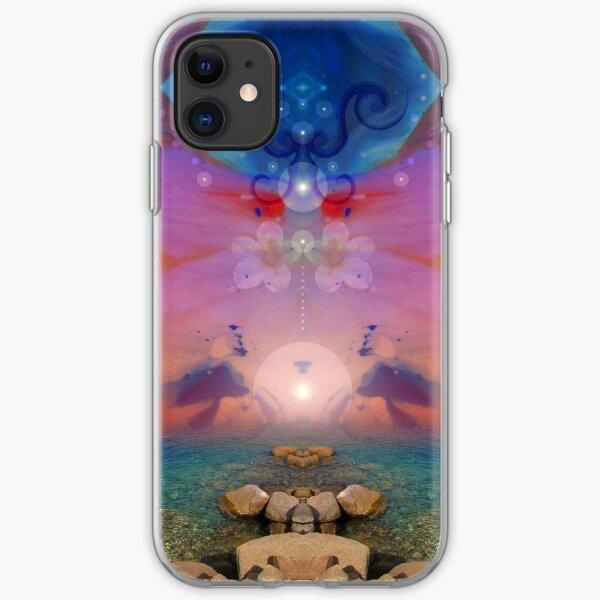 Daybreak - surreal landscape iPhone Soft Case