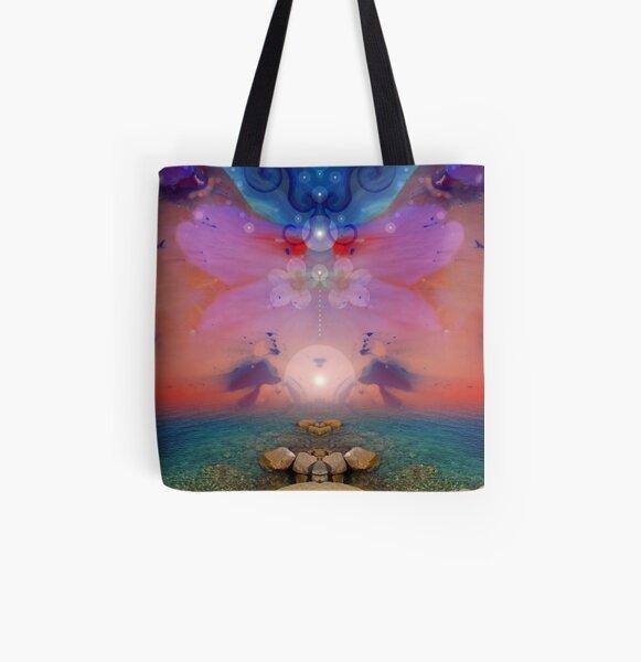 Daybreak - surreal landscape All Over Print Tote Bag