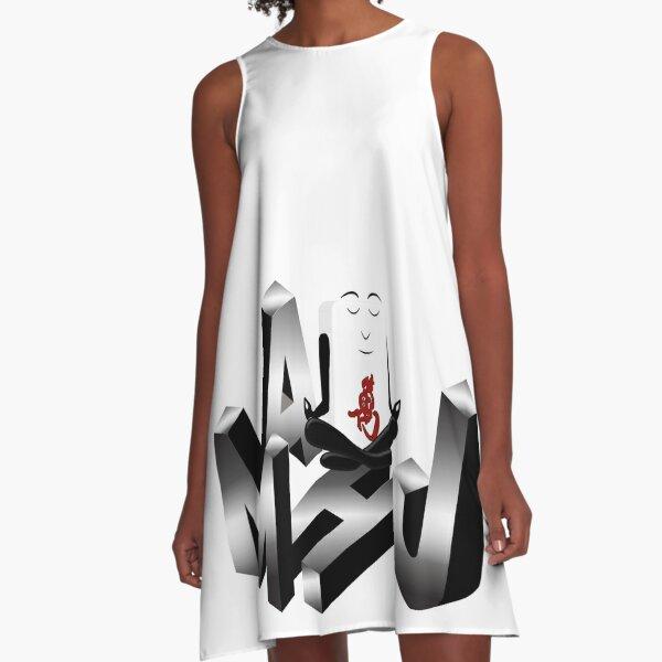 Mahj Meditate A-Line Dress