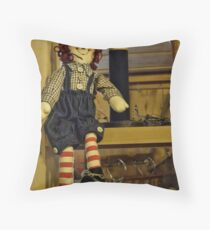 With a Wink and a Nod Throw Pillow