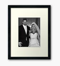 Ryan and Crissy McClintock Wedding II Framed Print
