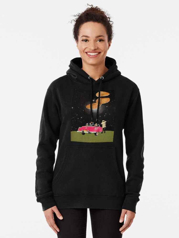 Alternate view of Unidentified flying object Pullover Hoodie