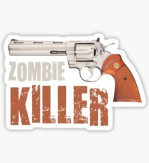 zombie killer Sticker