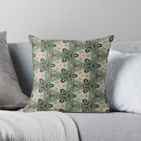 Cucumber Lime Throw Pillow