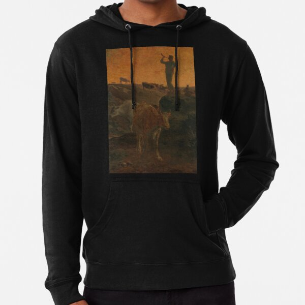 Calling the Cows Home Lightweight Hoodie