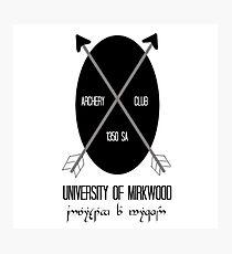 University of Mirkwood Photographic Print