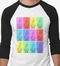 PopArt Vivi Men's Baseball ¾ T-Shirt
