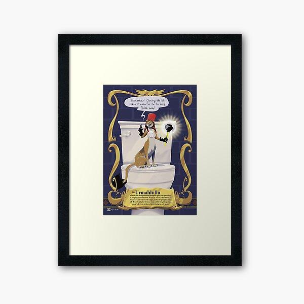 Urmahlullu Framed Art Print