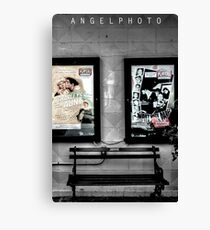 Theater Attractions.. Canvas Print
