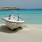 Nissi Beach Boat by JMaxFly