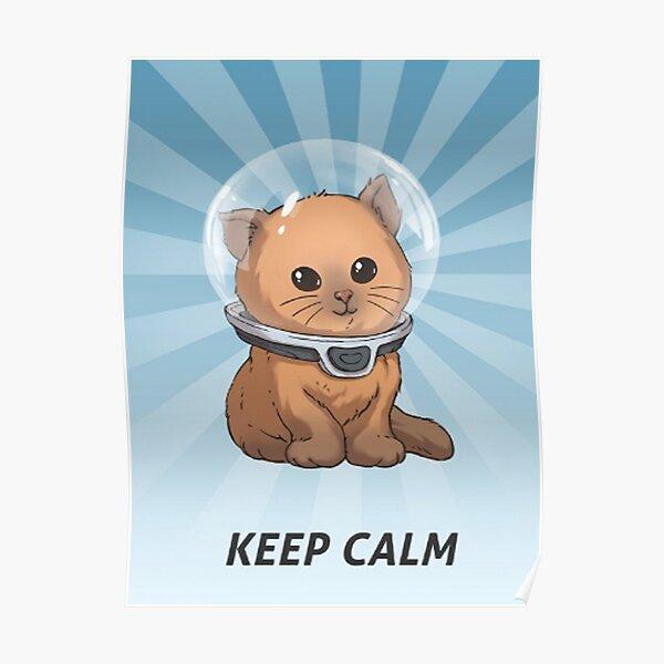 Keep Calm Kitty 86 Poster