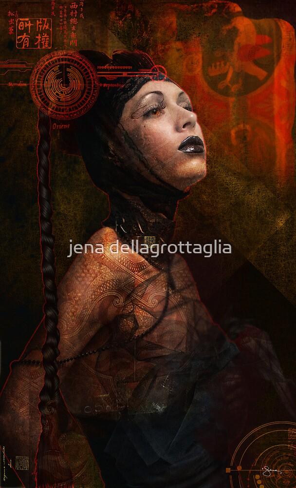 techno . geisha by jena dellagrottaglia
