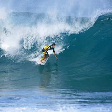 Miguel Pupo at Pipe Masters by skystudio