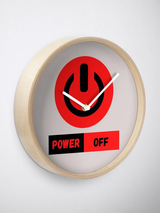 Vista alternativa de Reloj Power Off