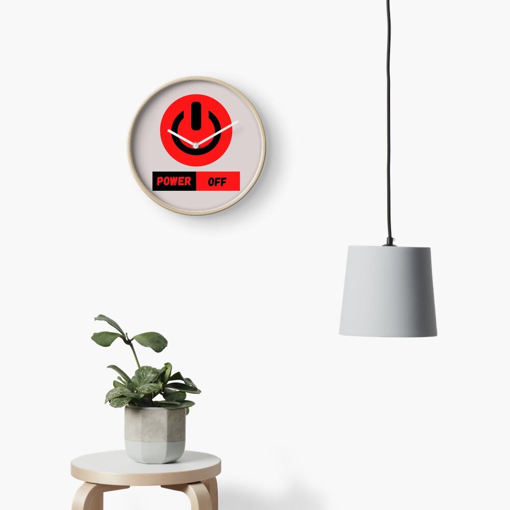 Power Off Reloj
