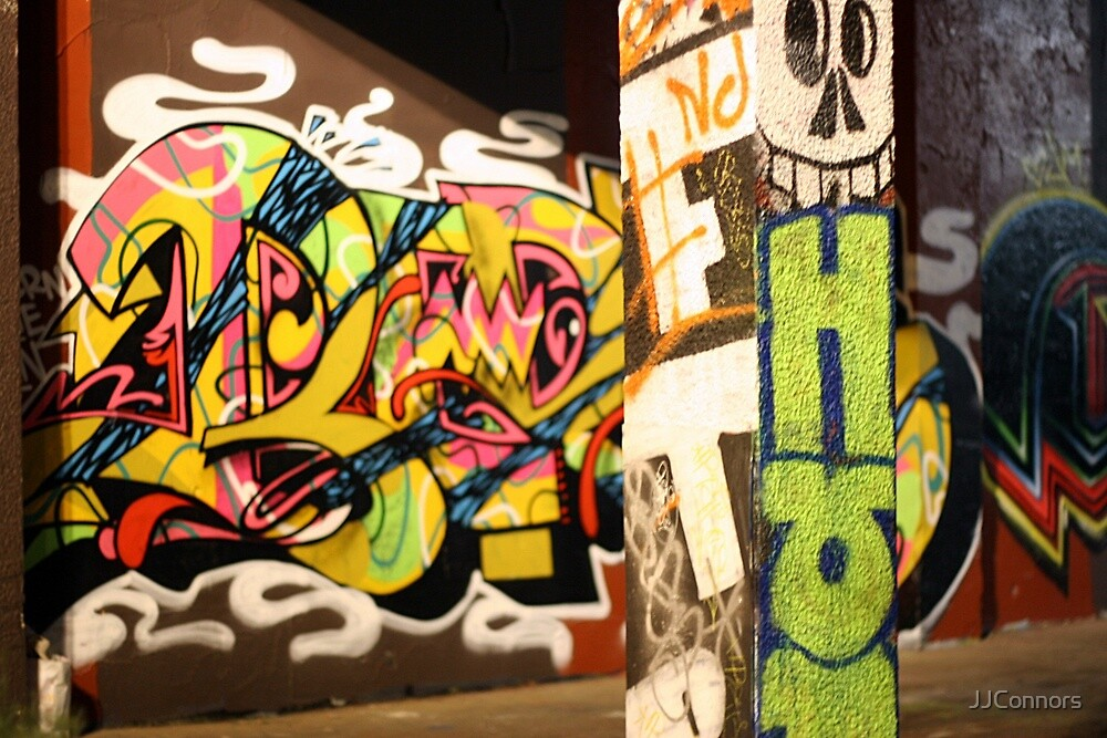 Grafitti Garages by JJConnors