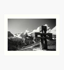 Alp Austria - Mountain - Kreuz Art Print