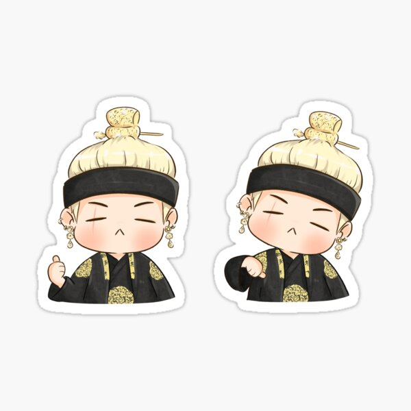 BTS Agust D-2 Sticker