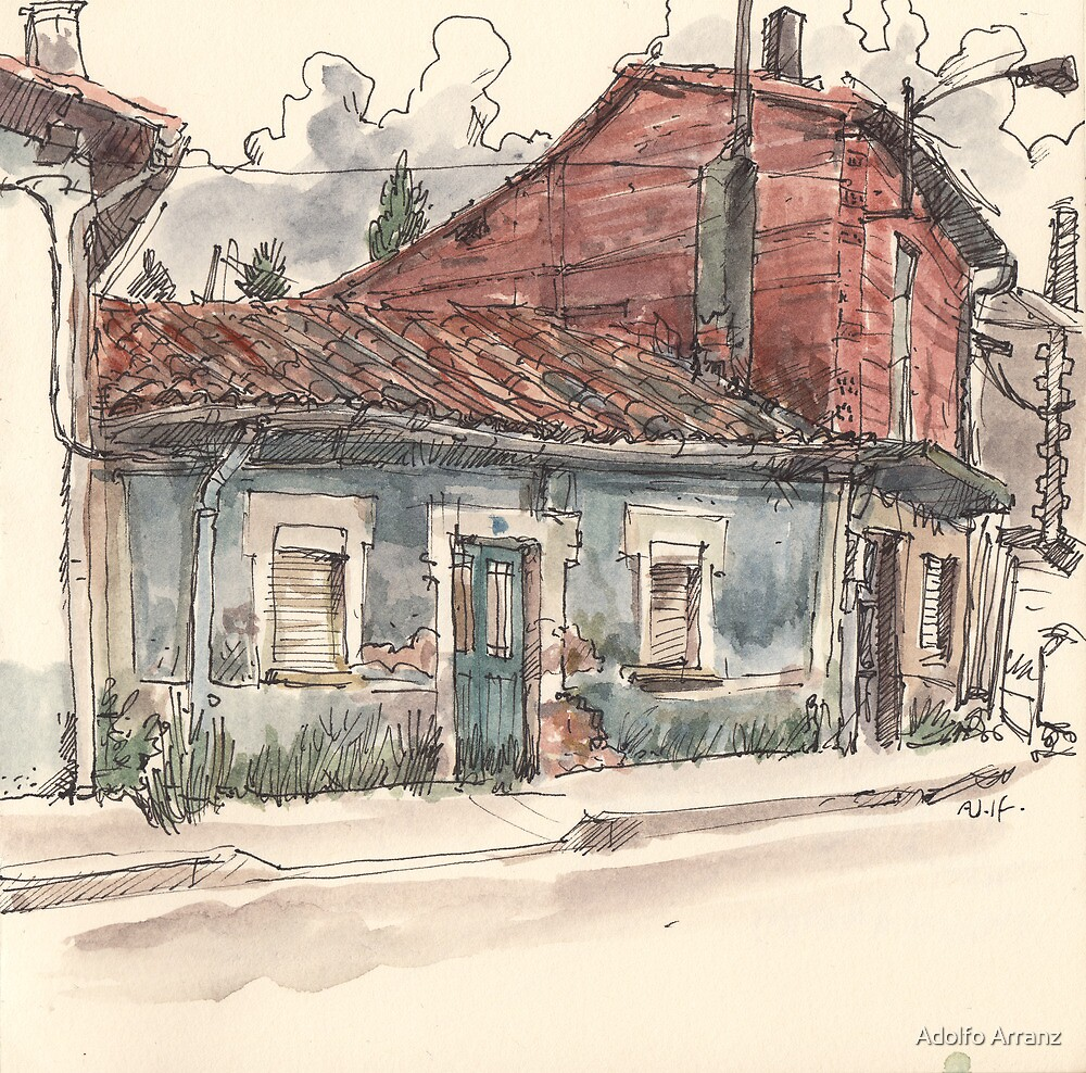 Valdecastro's house by Adolfo Arranz