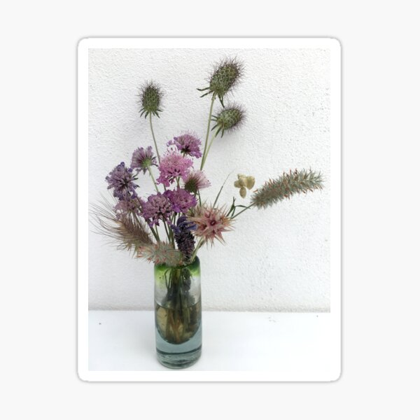 Andalusian wildflowers Sticker