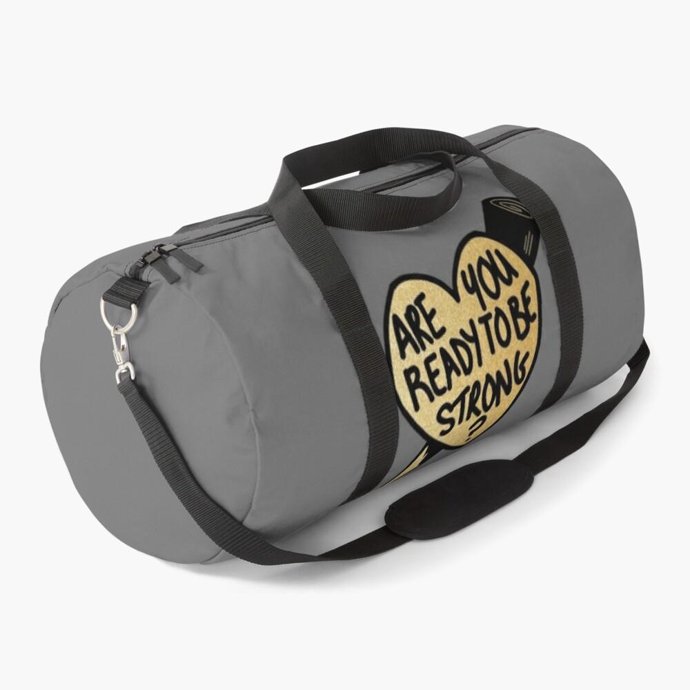 Buffy Ready To Be Strong Slay Heart Duffle Bag