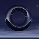 Liquid Metal Ring by Cameron Lundstedt
