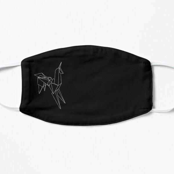 Origami Unicorn Flat Mask