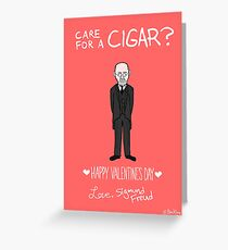 Freud Greeting Card
