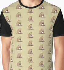 Grizzly Hugs Graphic T-Shirt