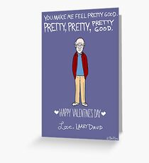 Larry David Greeting Card