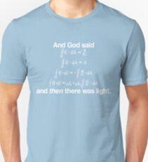 And God Said (Maxwell's equations) T-Shirt