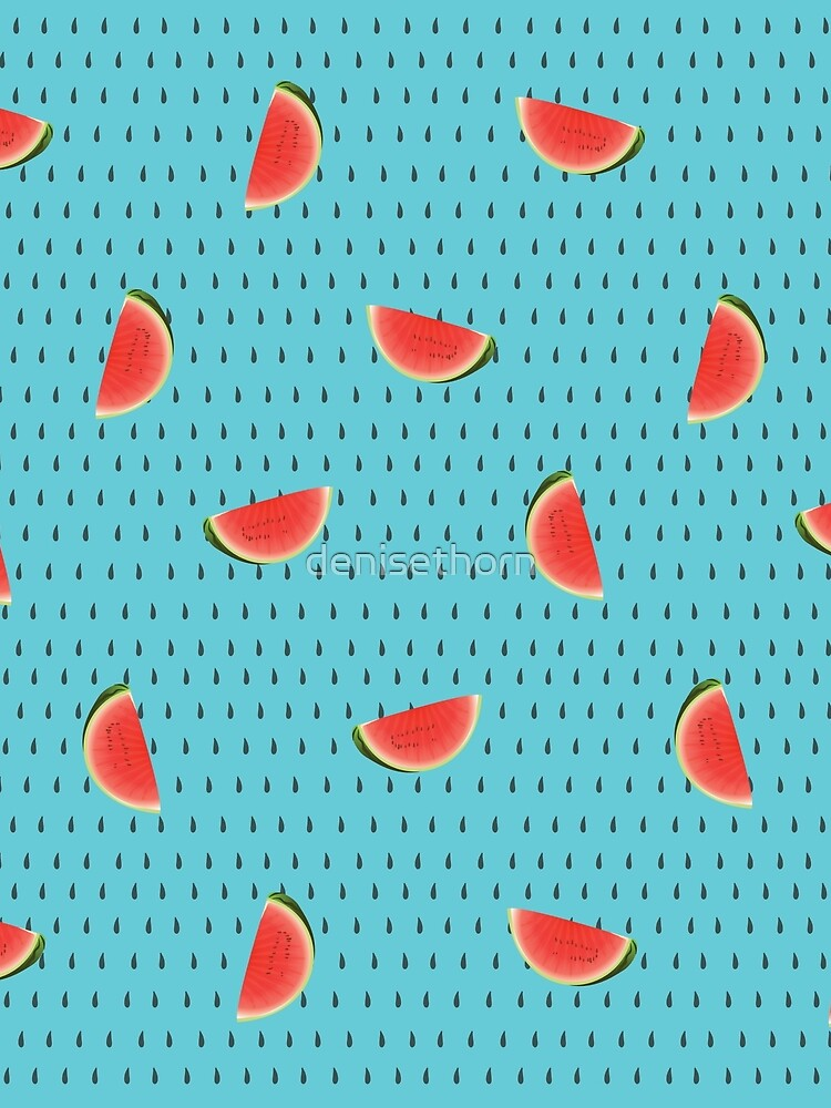 Fresh Watermelon by denisethorn
