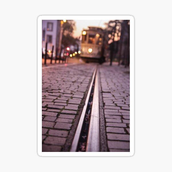 Tram in Lisbon Sticker