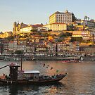 Sunset at Porto by Luka Skracic