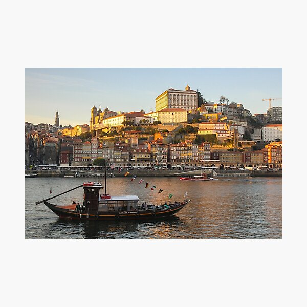 Sunset at Porto Photographic Print