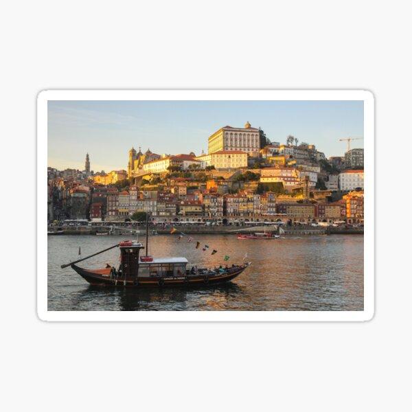 Sunset at Porto Sticker