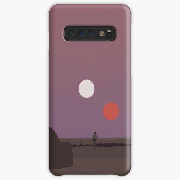 Binary Sunset  Samsung Galaxy Snap Case