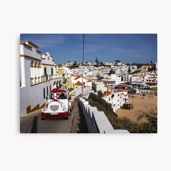 White Portugal Canvas Print