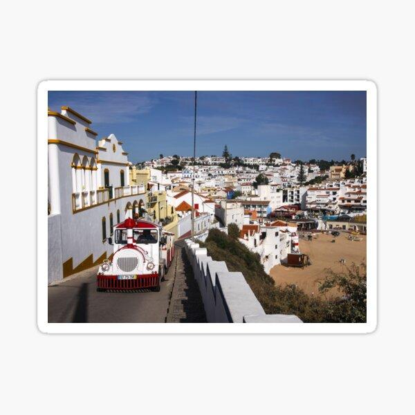 White Portugal Sticker