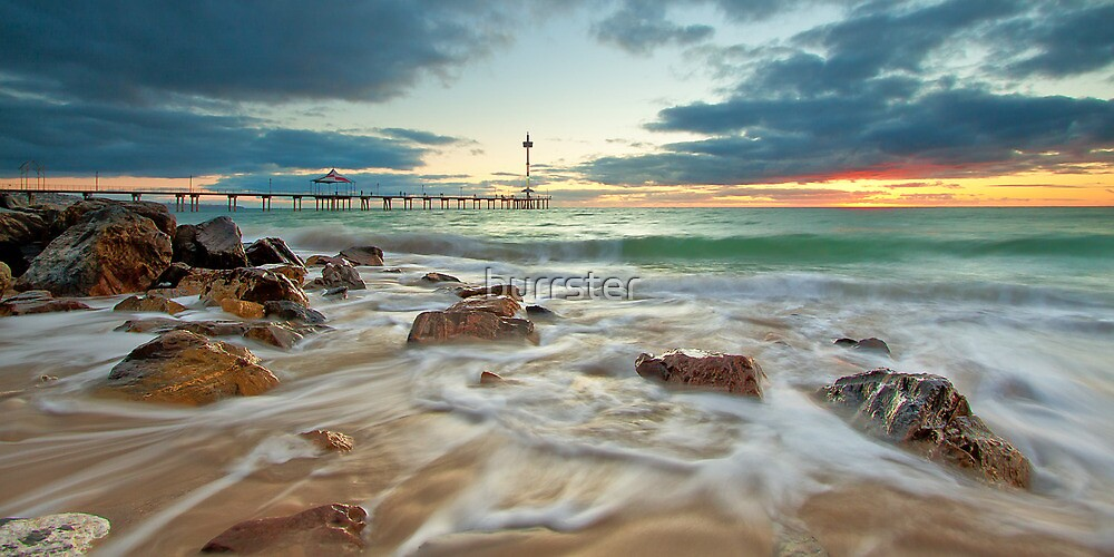 Brighton Jetty, Adelaide, South Australia by burrster