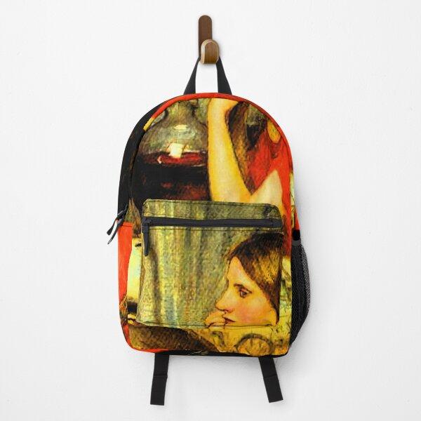 Circe Redhaired Sorceress Waterhouse Pre-Raphaelite Art Backpack
